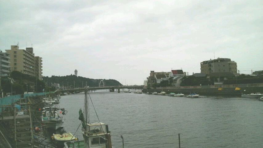 2週連続・霧に煙る江ノ島