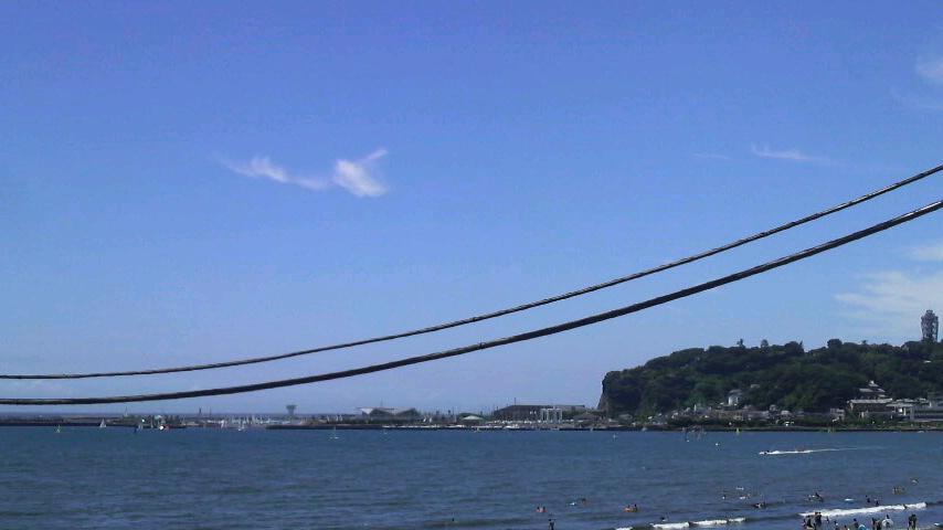 江ノ島西浜沖
