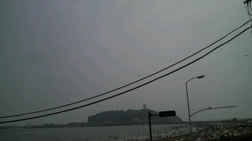 蒸し暑い湘南の夏