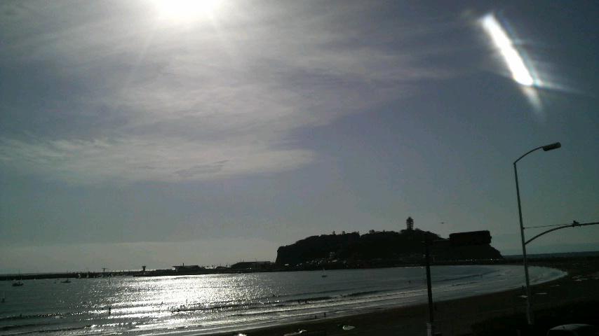 2011初海浸かり